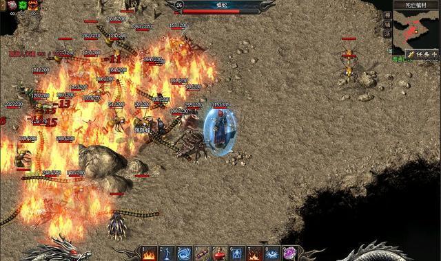 热血传奇:散人玩家不可错过的几只怪物,翻身做土豪就靠他们了