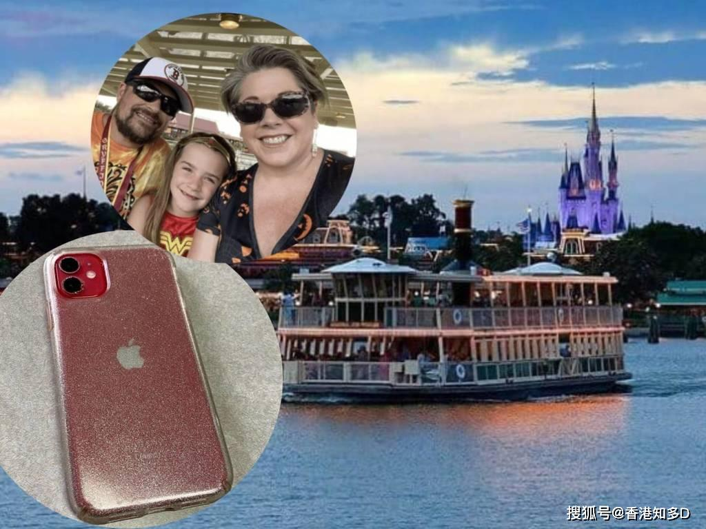 iPhone 11 误掉迪士尼湖!