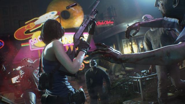 《生化危机3:重制版》ESRB评M级有血腥暴力画面_吉尔瓦伦汀