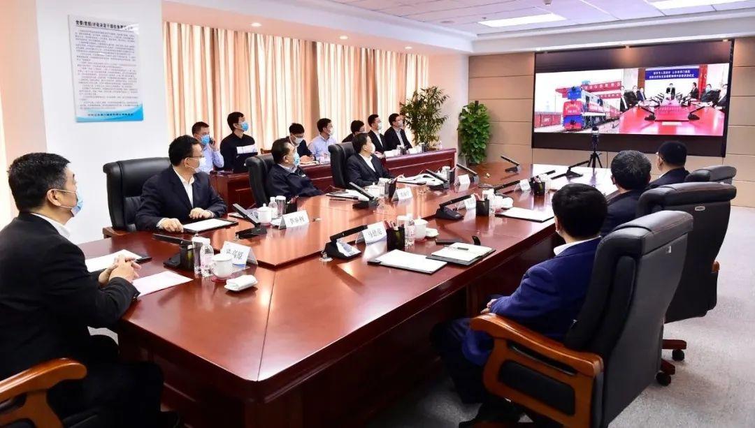 """山东省港口集团与淄博市""""网签""""战略合作协议"""