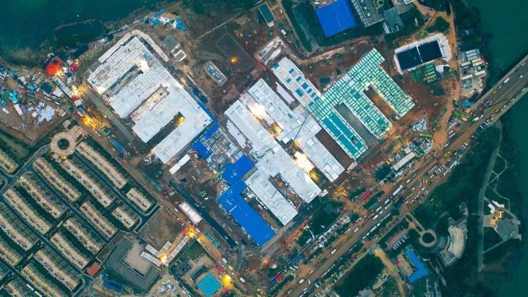 中国速度:装配式建筑加速火神山,雷神山建设图片