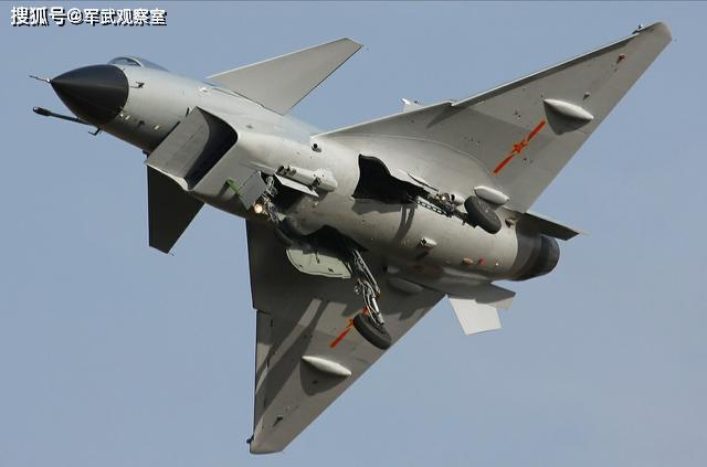 鸭式布局战机经典之作:中国歼10,法国阵风,瑞典鹰狮图片