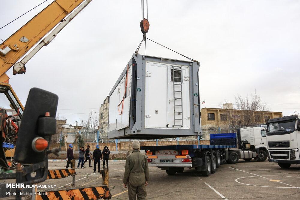 """伊朗版""""火神山""""医院开建,革命卫队地面部队进入警戒状态"""