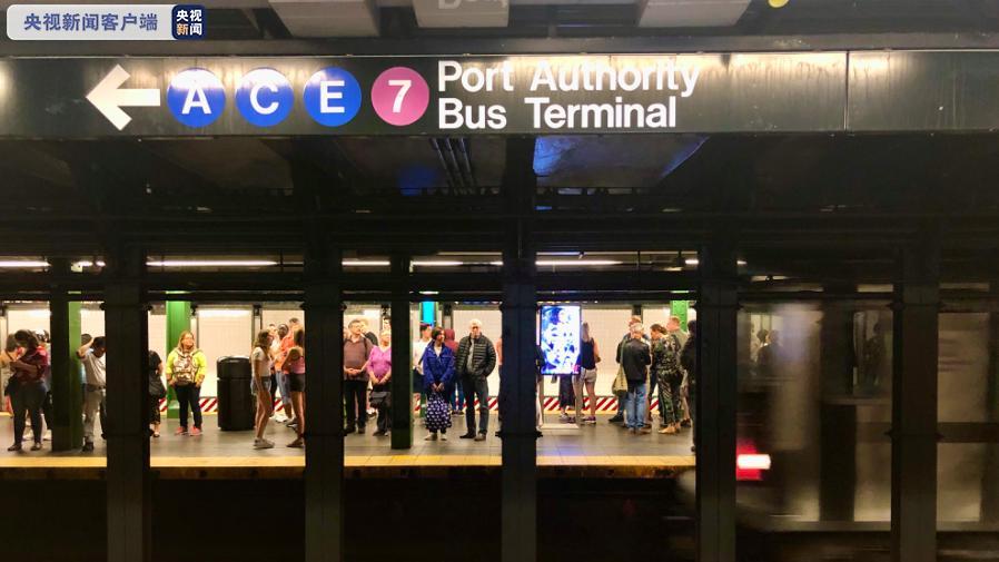 美国纽约公交系统加强消毒 严防新冠疫情