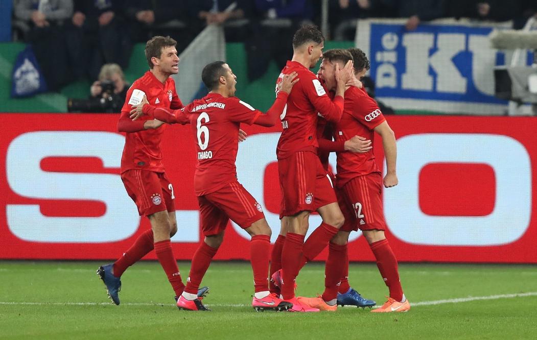 德国杯-基米希一锤定音 拜仁1-0沙尔克晋级四强