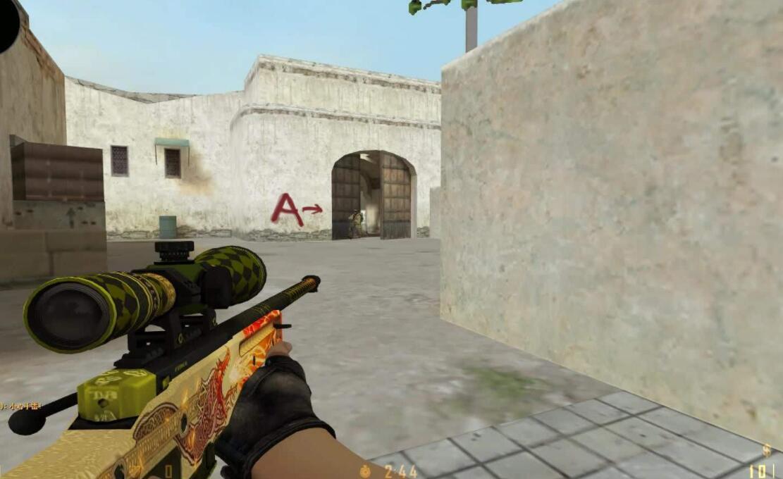 CSGO:怎么突破狙击枪的防守?烟雾弹只是其一,这武器适合针对