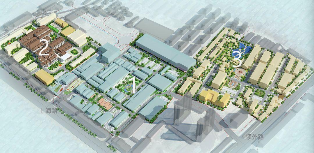 699文化创意园三期规划出炉 要打造历史记忆文化商业区以及亲子乐园