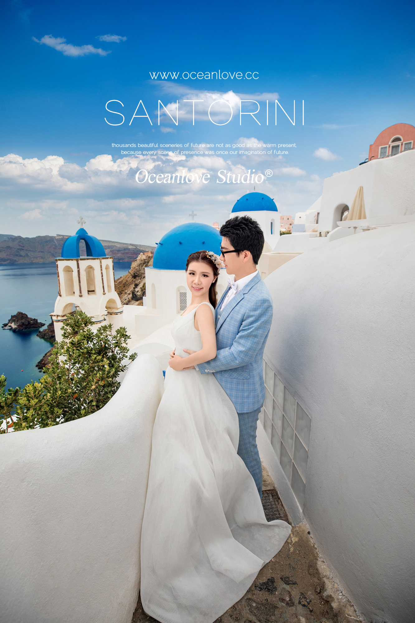 圣托里尼婚纱_大理圣托里尼照片