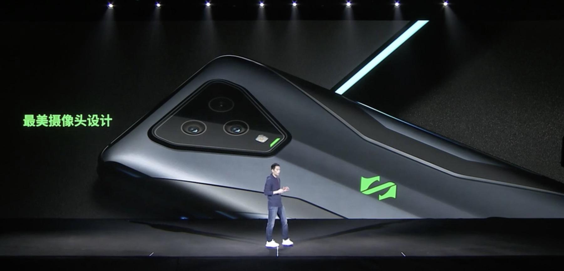 黑鲨与腾讯合作推出首款5G游戏手机,罗永浩没来但他来了