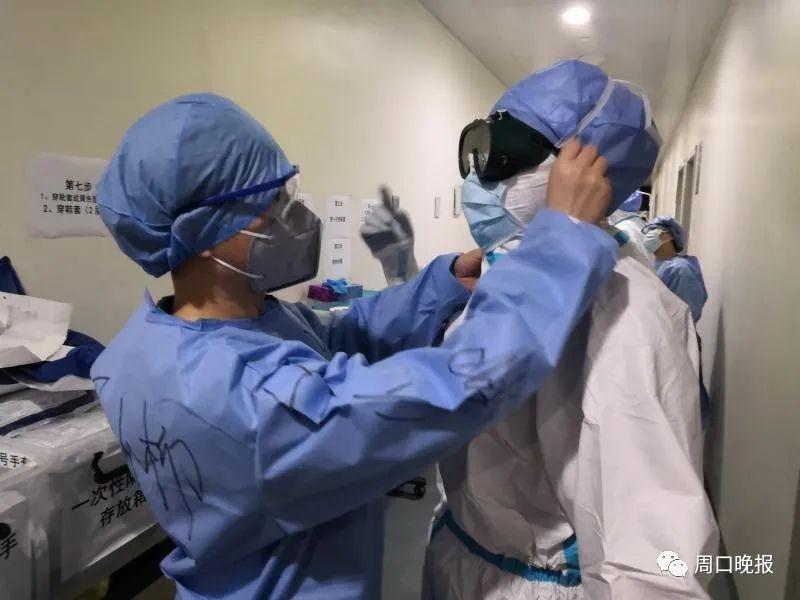 在武汉大学人民医院,周口这俩援鄂护士这样守护医护安全