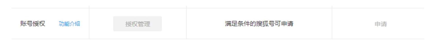 【公告】搜狐號推出「賬號授權」功能,自媒體創作團隊的福音!