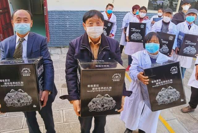 香格里拉东旺生物科技携手昆明武汉两地慈善总会,助力武汉疫情防控插图(3)