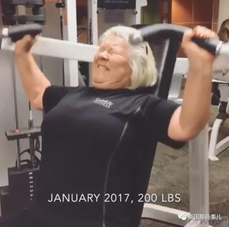 胖奶奶从70岁开始撸铁健身,3年后身材居然如此好看!!