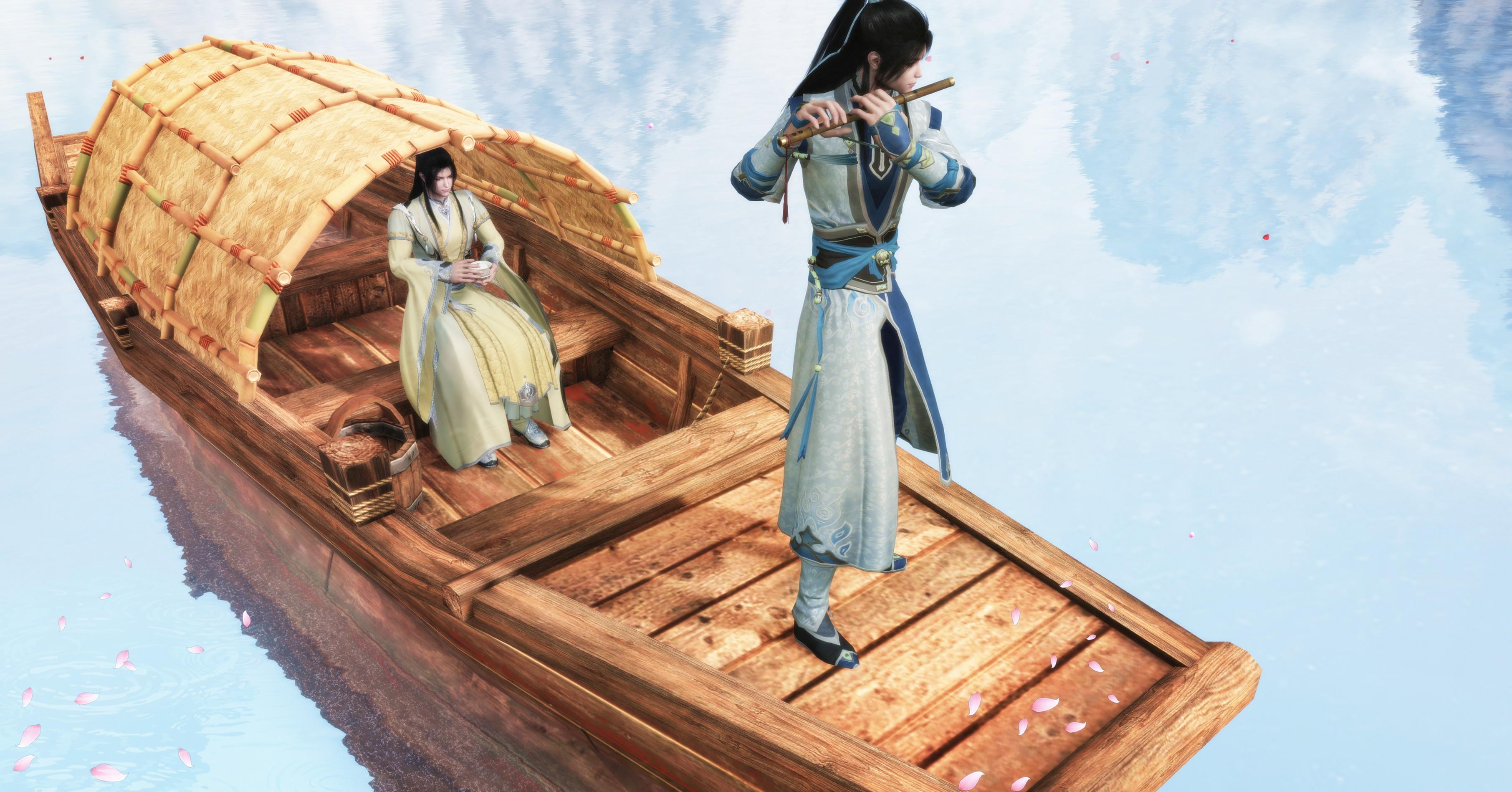 网游史上最奢侈主题曲,用1千多年前,价值2000多万的古琴弹奏_游戏