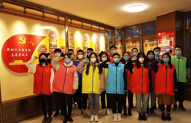 """吉林镇赉:大学生志愿者释放青春力量积极参与战""""役"""""""