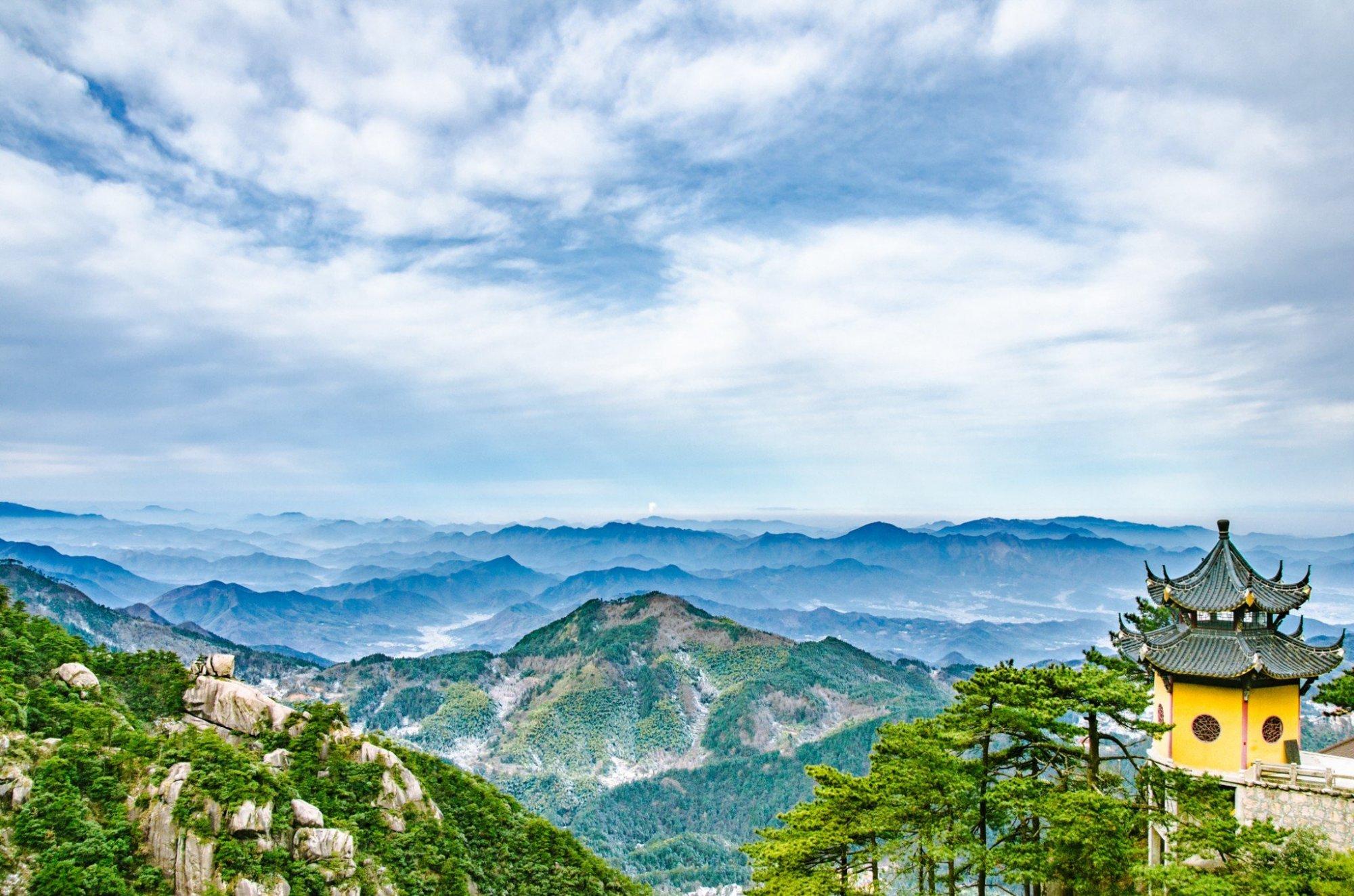 """安徽最低调的名山,被誉为""""东南第一山"""""""