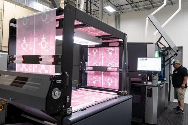 ePac打破惠普Indigo数码印刷机软包装生产记录