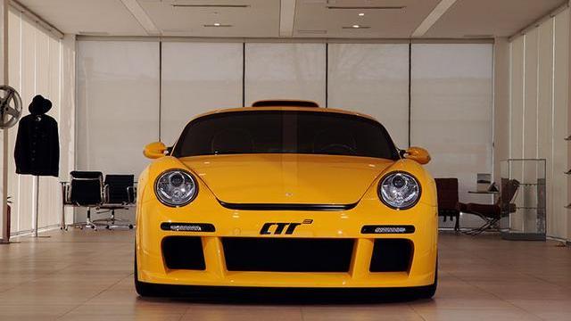 原创如虎!中档保时捷911 RUF CTR3的剧烈改造