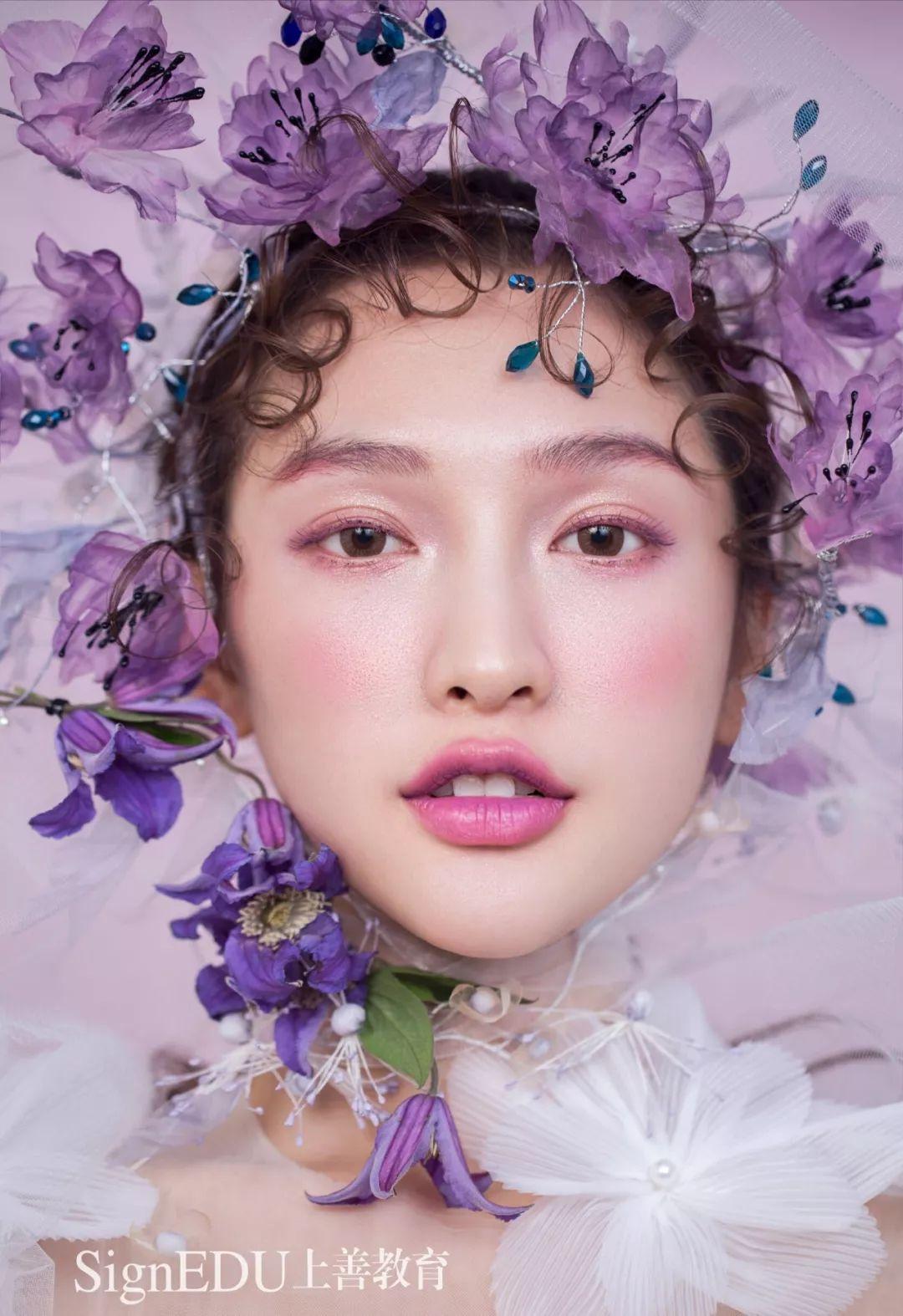 超时尚仙美的鲜花新娘造型来袭图片
