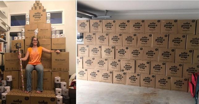 """澳大利亚现卫生纸抢购潮:一女子狂买48箱,变""""卫生纸女王"""""""