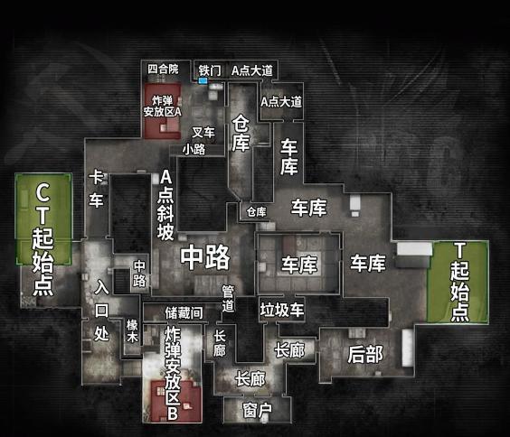 CSGO攻略教学:国内最火的地图之一,死城之谜如何打好防守