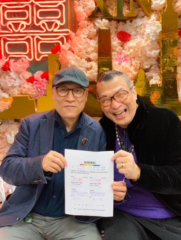 68岁台湾时尚教父与男友领证结婚,一手栽培林志玲阮经天郑元畅