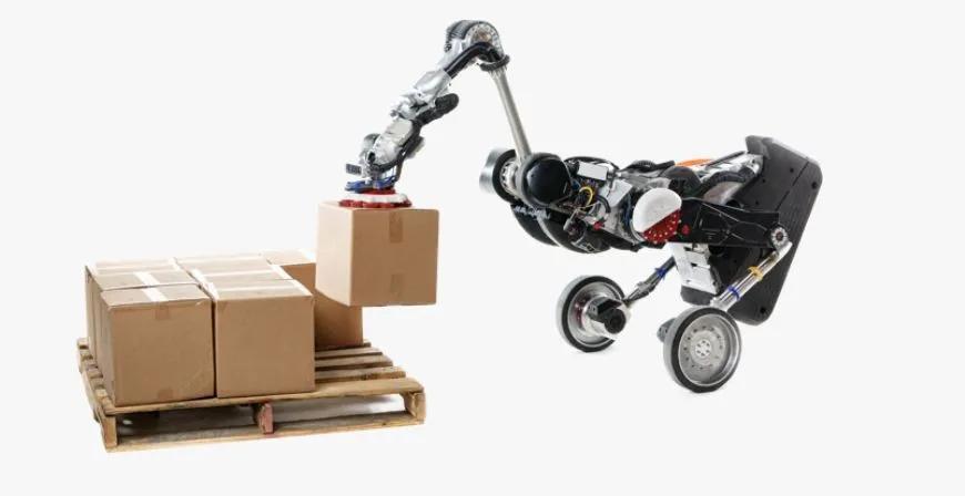波士顿动力Handle正式出道!与物流机器人OTTO搭档运货
