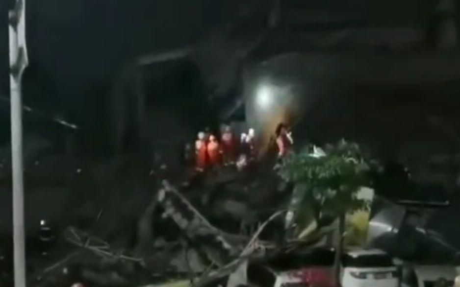 泉州酒店坍塌现场已救出28人