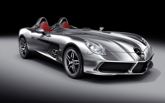 四款独一无二的跑车!奔驰全球只有75辆,马丁起价76.5万英镑