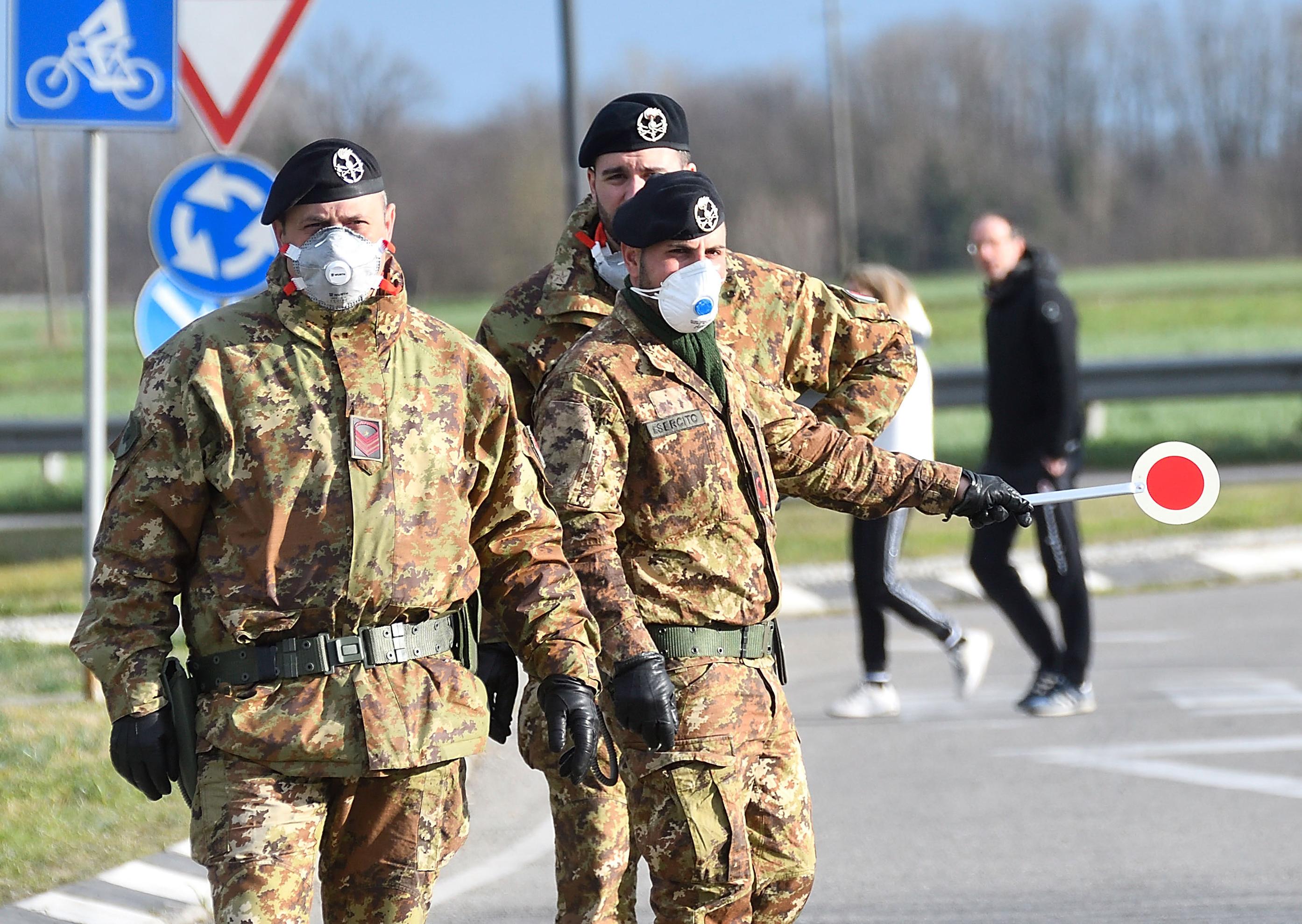 意大利宣布隔離倫巴第大區