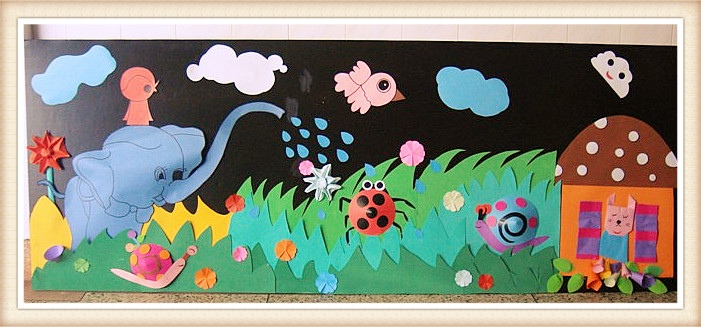 100多款幼儿园主题墙手工环创,幼师必备