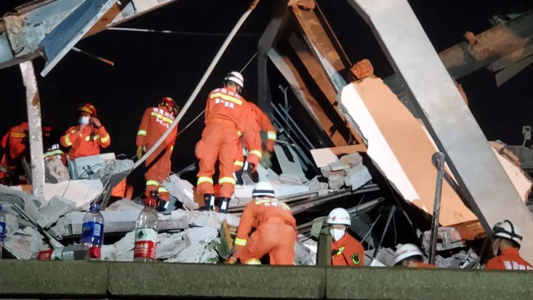 最新,泉州市鲤城区欣佳酒店楼体坍塌事故已救出40人