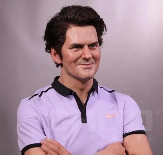OMG!这是费德勒?盘点网球运动员的那些蜡像_纳达尔