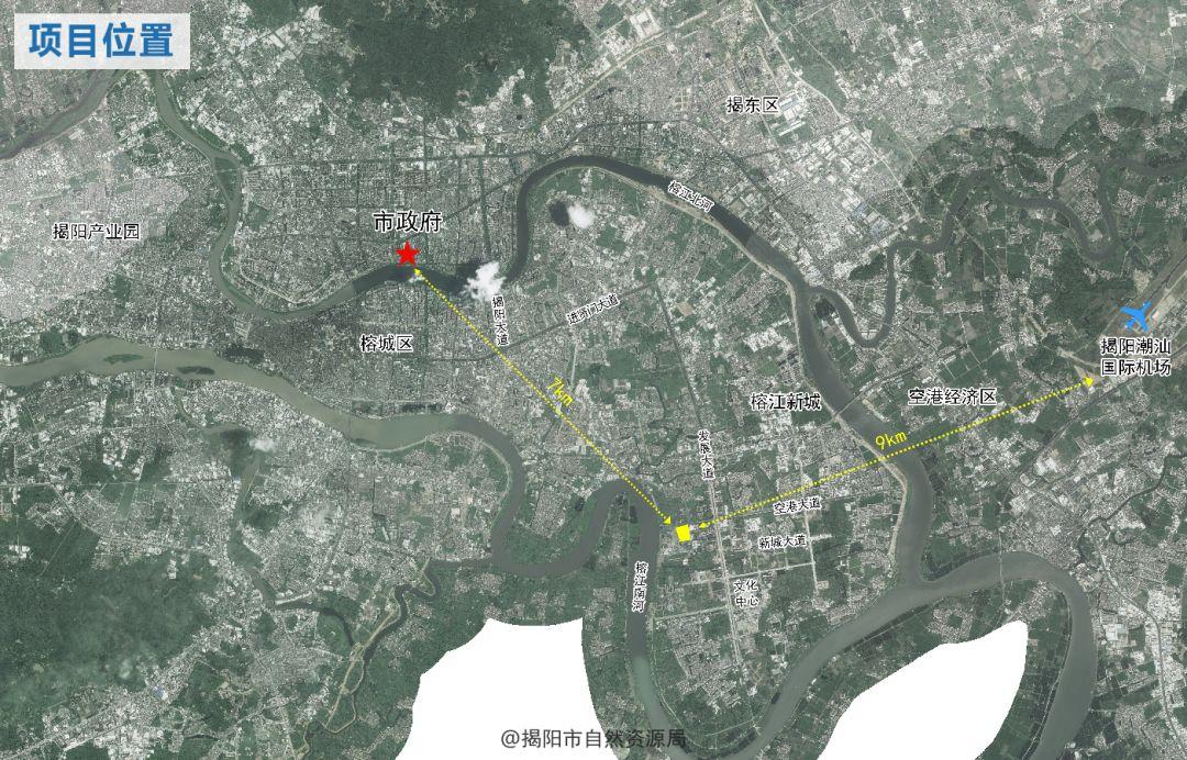 最新!揭阳榕江新城生活组团规划方案