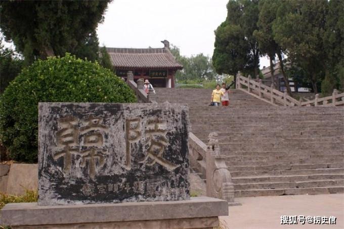 河南孟县韩庄村,始建于唐代的唐宋八大家之首韩愈墓