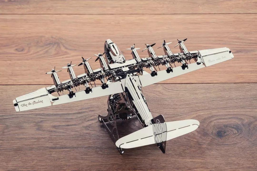 乌克兰态摩金属传动模型 大力神飞机