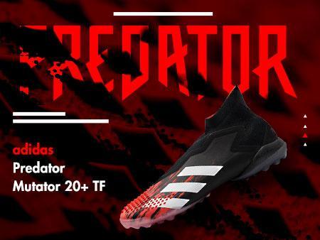 新产品鉴赏!阿迪达斯捕食者突变20 TF足球鞋