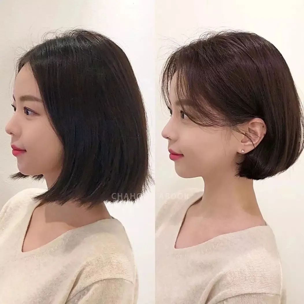 春日短发怎么选?你的脸型决定!