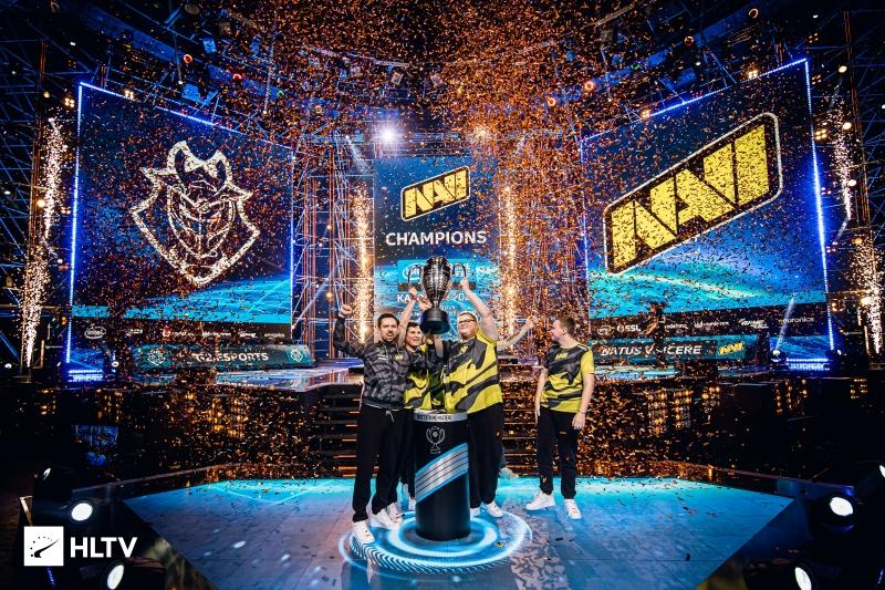 CSGO最新世界排名:NaVi取代A队登顶!_Major