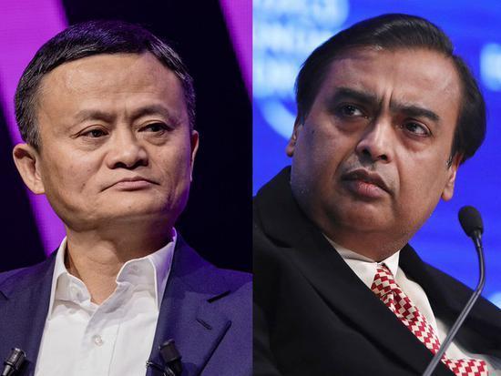 马云重夺亚洲首富 全球首富贝佐斯一天损失70亿美元