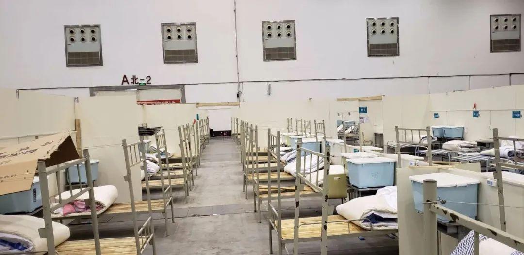 武汉首个方舱医院休舱