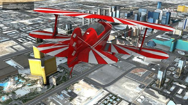 逼真模拟飞行体验微软商店《极限飞行之拉斯维加斯》现可免费领_游戏