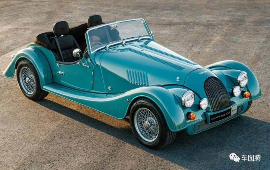 外观复古,搭载宝马2.0T发动机的新款摩根Plus 4亮相