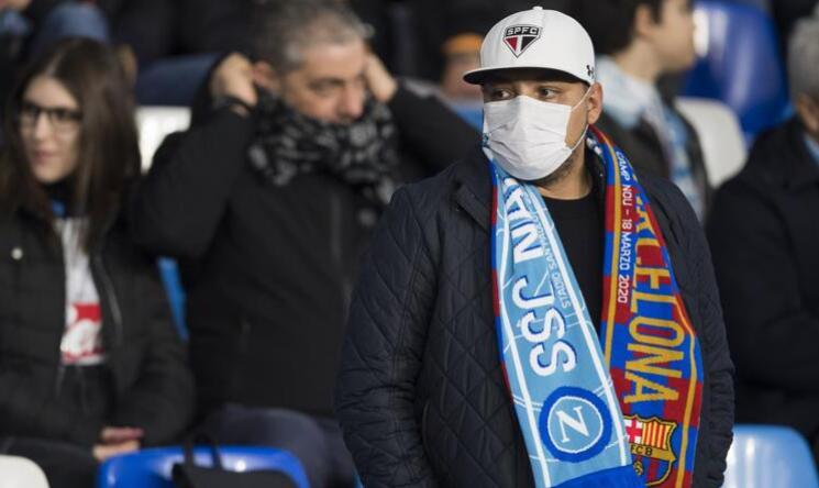 巴萨禁止那不勒斯球迷买票 若空场门票损失450万
