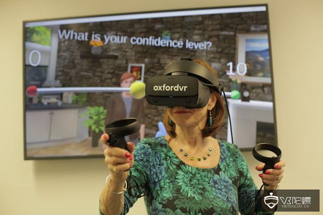 Oxford VR推出VR心理治疗干预技术,帮助人们克服焦虑的社会回避感