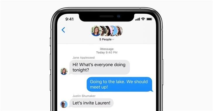 """苹果内部正测试iMessage新功能 包括提及""""@""""和撤回消息"""