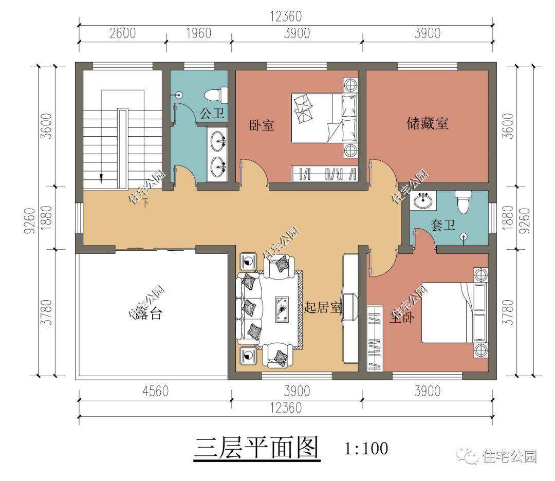 美墅住宅设计图纸