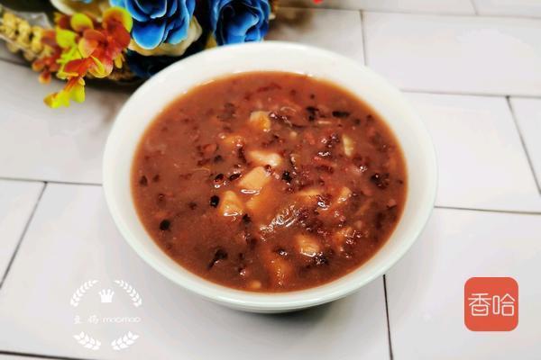 教您做红薯黑米粥,补血养发,早餐来一碗暖身又暖心