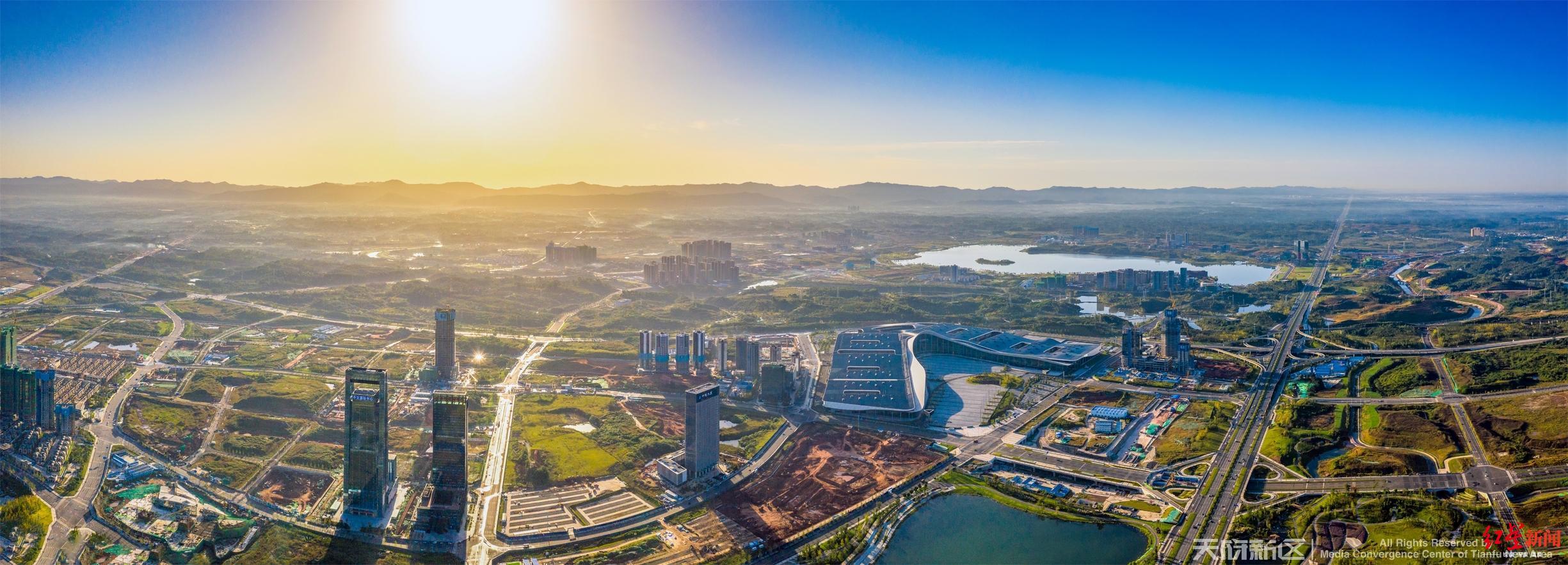 天府新区14个项目集中开工 总投资达103.2亿元