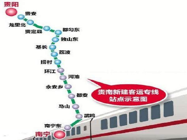 2020年广西新建续建的9条高铁铁路线路对哪些地方最有利